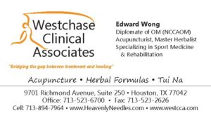Edward Wong WCCA business card